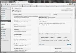 ClickBump Widget Visibility